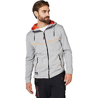 Helly Hansen Mens Chelsea Evolution Full Zip Hooded Work Hoodie Jacket