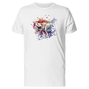 Spritzen, Schmerzen große Dino T-Shirt Herren-Bild von Shutterstock