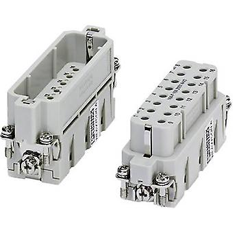 Phoenix Contact 1677076 Plug inset HC-A 16 + PE Crimp 1 pc(s)
