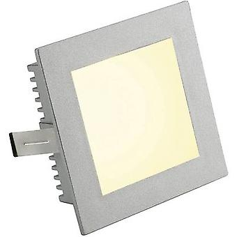 SLV 112732 Marco plano Basic Flush mount light HV halógeno G4 20 W Silver-grey