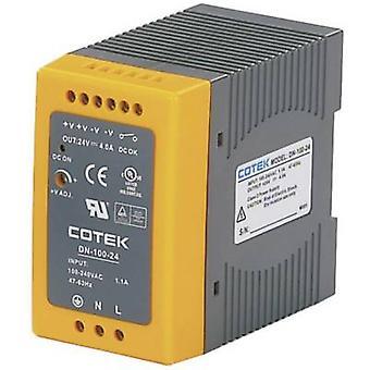 Cotek DN 100-15 Rail mounted PSU (DIN) 15 V DC 6.4 A 96 W 1 x