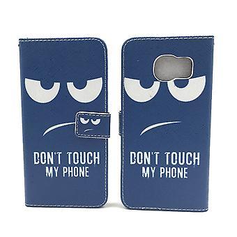 Caso malote do telefone móvel para móvel Samsung Galaxy S7 borda não toque o meu telefone