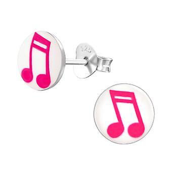 Musica nota - 925 Sterling Silver colorati orecchini - W19777X