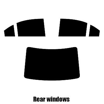 Pre cut window tint - Kia Magentis - 2006 to 2008 - Rear windows