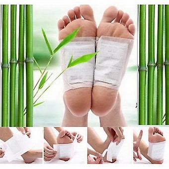 10 Kinoki Detox Foot Patch Pads Füße Patches entfernen Körper Giftstoffe Weight Loss