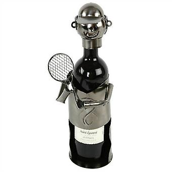 Weinflasche Halter Tennisspieler