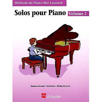 Libro di assoli di pianoforte 2 - edizione francese: Hal Leonard Student Piano Library