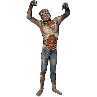 Traje adulto Morphsuit Zombie