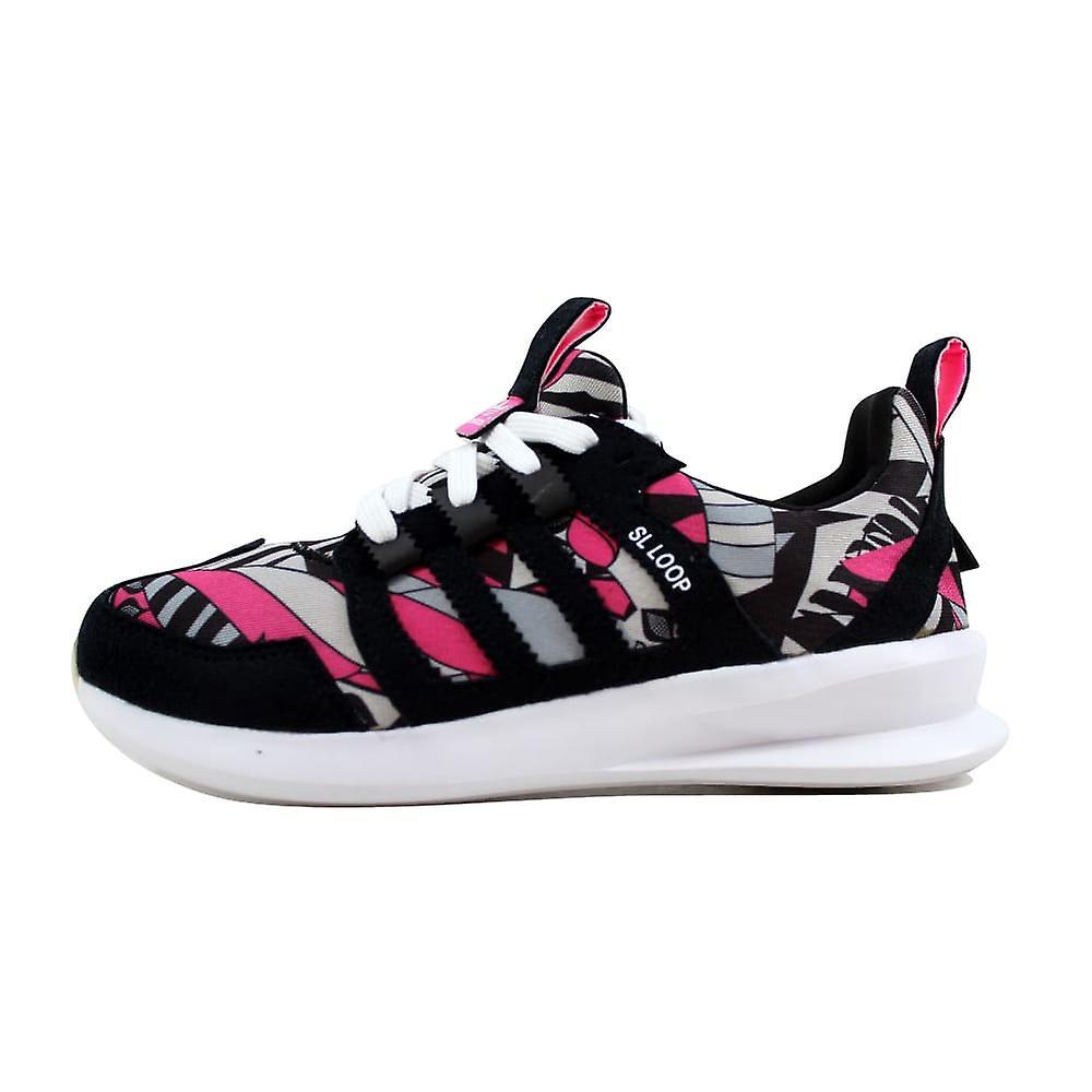 Adidas SL Schleife Runner W schwarz-weiß/Custom-C75347 Frauen