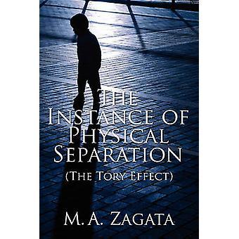 Forekomsten av fysisk separasjon Tory effekten av Zagata & M. en.