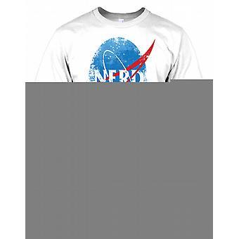 NÖRD NASA inspirerade Mens T Shirt