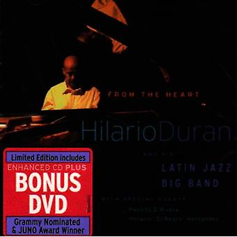 Hilario Duran & Latin Jazz Band - From the Heart [CD] USA import