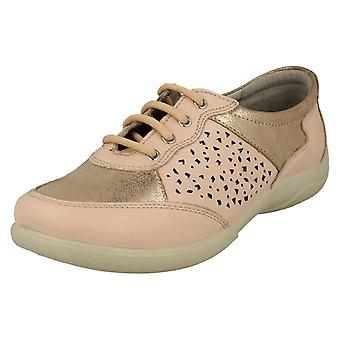 Ladies Padders Lace Up Shoes Harp