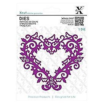 Xcut Dies (1pc) - Filigree Heart Frame (XCU 503431)