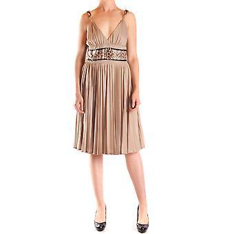Juste Cavalli Ezbc141030 Femmes-apos;s Beige Polyester Dress