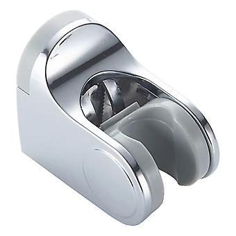 Shower Head Hanger Handle Chrome Plated Plastic Bathroom Showering Replacement