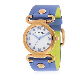 Marc-Marc Jacobs malý Molly River kůže Dámské hodinky MBM1307