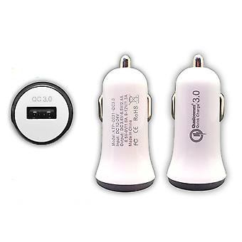 Caricabatterie auto Quickcharge 3.0, 3A, caricabatterie veloce