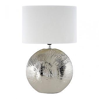 Premier Home Hattie Table Lamp, Silver
