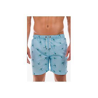 Franks zwemmen shorts Franks Mid Length zwemmen shorts floreat Sky