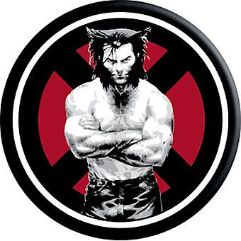 Magnet - Marvel - Wolverine Arms Crossed Circle Licensed Gifts Toys m-mx-0002