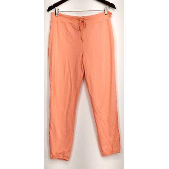 xhilaration Lounge Pantaloni maglia Pull On Orange Donne