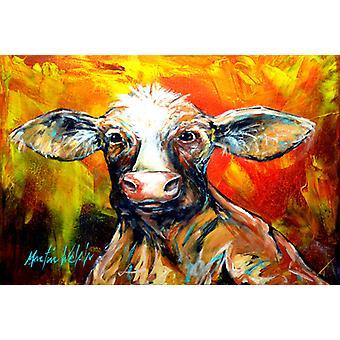 Carolines Schätze MW1225PLMT Eine weitere glückliche Kuh Stoff Placemat