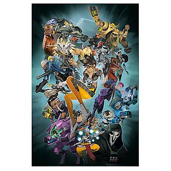 Overwatch Anthology Vol 1 Libro