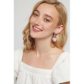 Louche Rosy Pink Earring Pink