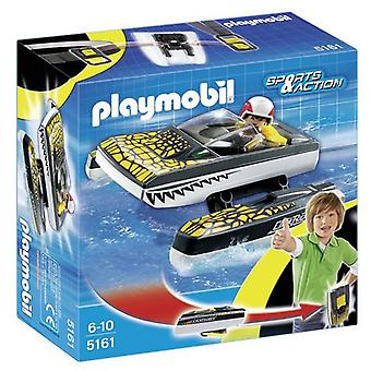 Playmobil Click & Go Croc Speedboat 5161
