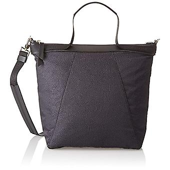 Borbonese Hobo With T Black Women's shoulder bag 26x29x18 cm (W x H x L)