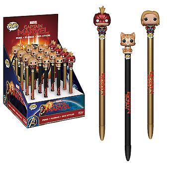 Pop! Pen Topper: Captain Marvel Mystery Piece