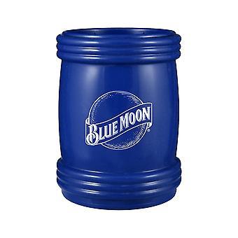 Enfriador de lata magnética del logotipo de la luna azul