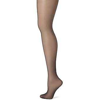 Hanes Women's Control Top Sheer Toe Silk Reflections Panty Hose, Classic Navy...