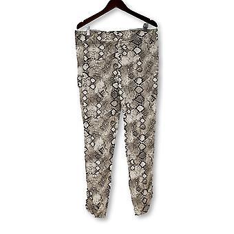 Afslanken opties voor Kate & Mallory legging Ruched zwart/wit A426083