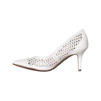 Alfani Womens Jennah cuir Pointed Toe Pumps classique