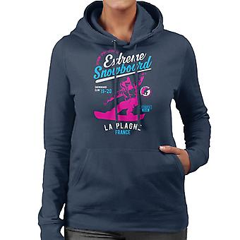 Extreme Snowboard '19 '20 La Plagne France Women's Hooded Sweatshirt