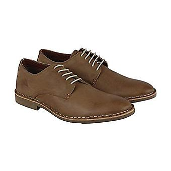 Kenneth Cole Reaction Mens En-Deer-ing Fabric Lace Up Casual Oxfords