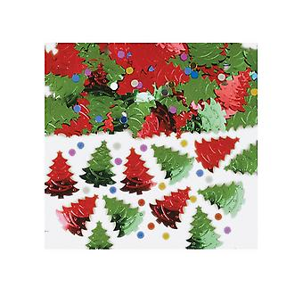 Amscan Metallic Christmas Tree Confetti
