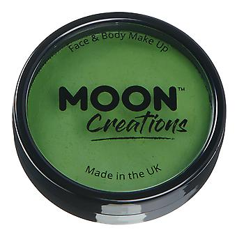 Moon Creations - Pro Face & Body Paint Cake Pots - Grass Green