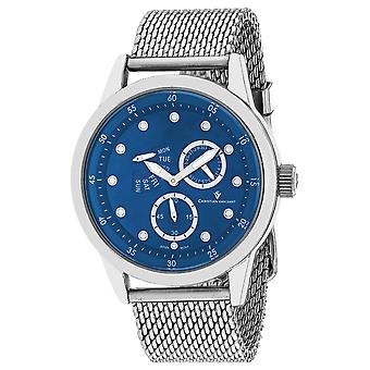 Christian Van Sant Uomo's Rio Blue Dial Watch - CV8712