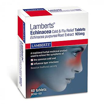 Lamberts Echinacea Cold & Flu Relief Tablets 60 (8002-60)