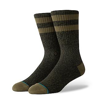 Stance Joven Crew Socks in Army