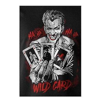 Batman Unisex dospelí zástupné Joker T-shirt