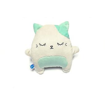 Meesoz Hushable - Greener Cat (jucărie de zgomot alb)