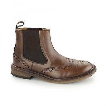 Catesby Shoemakers Bjorn Mens Goodyear Welted Chelsea Boots Brown