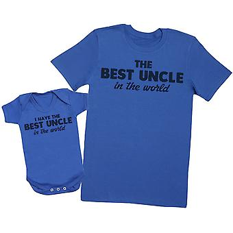 I Have The Best Uncle In The World Matching Uncle Baby T-Shirt Gift Set