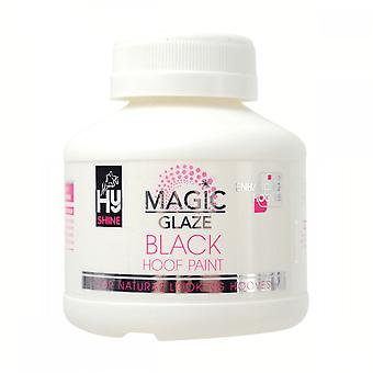 Battles Hyshine Magic Glaze Hoof Paint 250ml - Black