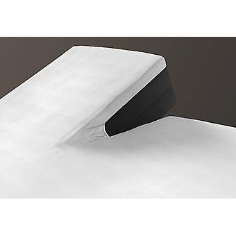 SLEEPMED 2 Pack Jersey Split Topper, fitted sheets for cotton box spring beds, anti-allergic mattress cover with slot