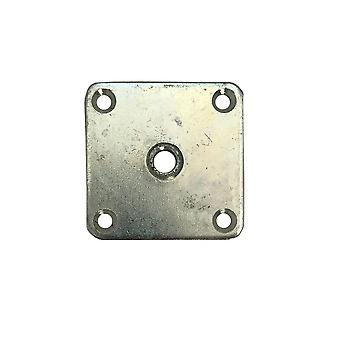 Mounting plate 5.7 x 5.7 cm (Pouch 4 pieces)
